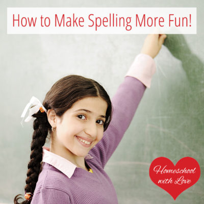 How to Make Spelling More Fun