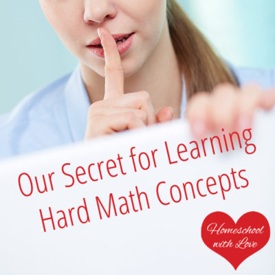 Our Secret for Learning Hard Math Concepts