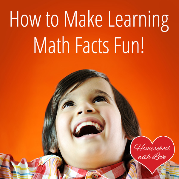 How to make learning math facts fun