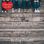 How to Teach Your Child the Steps of the Writing Process