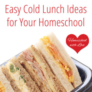 Easy cold lunch ideas for your homeschool easy cold lunch ideas for your homeschool 1 300x300g forumfinder Images