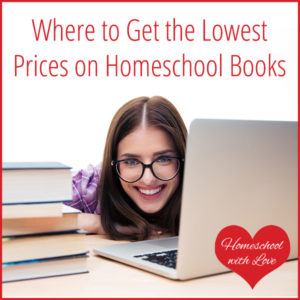 Where to Get the Lowest Prices on Homeschool Books