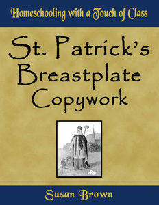 St Patricks Breastplate Copywork
