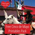 FREE Cinco de Mayo Printables Pack