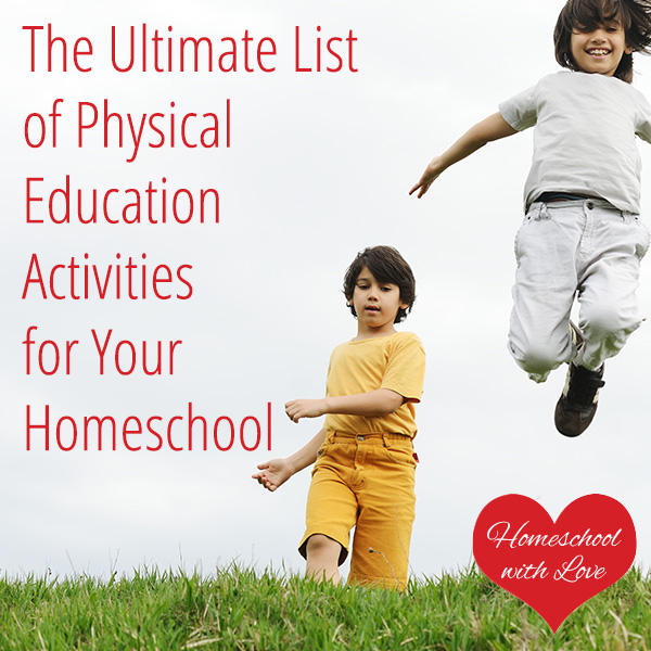 The Ultimate List Of Physical Education Activities For