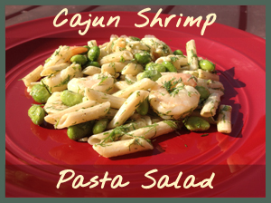 Cajun Shrimp Pasta Salad