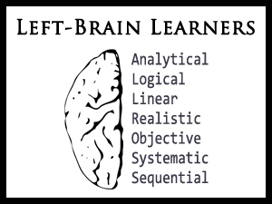 Left-Brain Learners