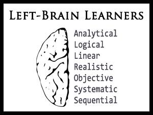 Left-Brain Learners