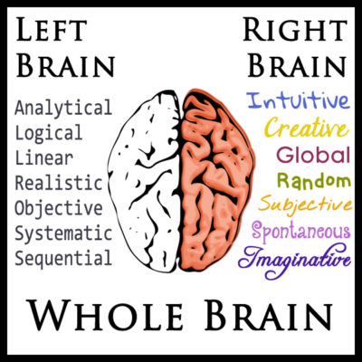 Left-Brain, Right-Brain, Whole-Brain Learning