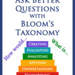 Ask Better Questions with Bloom's Taxonomy