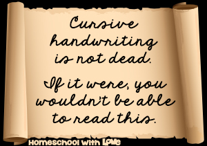 10 Reasons Why Cursive Handwriting is NOT Dead