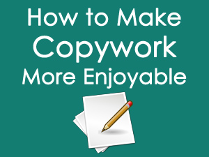 How to Make Copywork More Enjoyable
