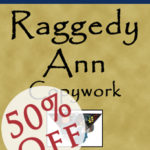 Get Raggedy Ann Copywork for 50% Off