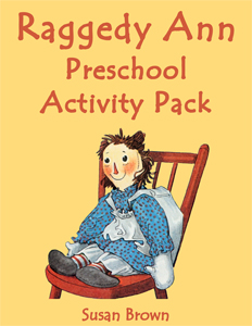 Raggedy Ann Preschool Activity Pack