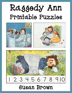 Raggedy Ann Printable Puzzles