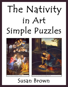The Nativity in Art Simple Puzzles
