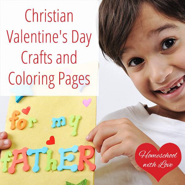 Christian Valentine 39 s Day Crafts and Coloring Pages