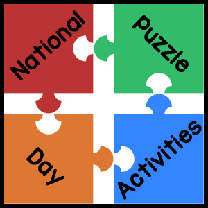National Puzzle Day Activities