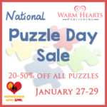 Save 20-50% on Puzzles at Our National Puzzle Day Sale