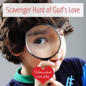 Scavenger Hunt of God's Love