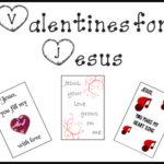 Valentines for Jesus Free Printable