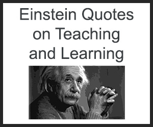 Einstein Quotes On Teaching And Learning