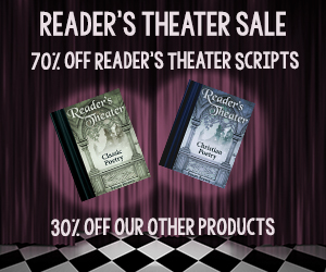 Save 70% at Our Reader's Theater Sale!