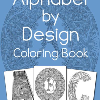 Alphabet by Design Coloring Book