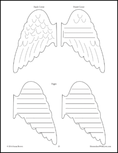 Angel Wing Mini Book image