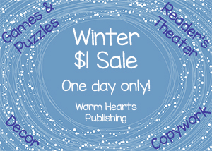 Winter $1 Sale – One Day Only!