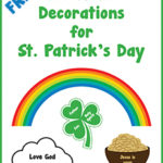 FREE Christian Decorations for St. Patrick's Day