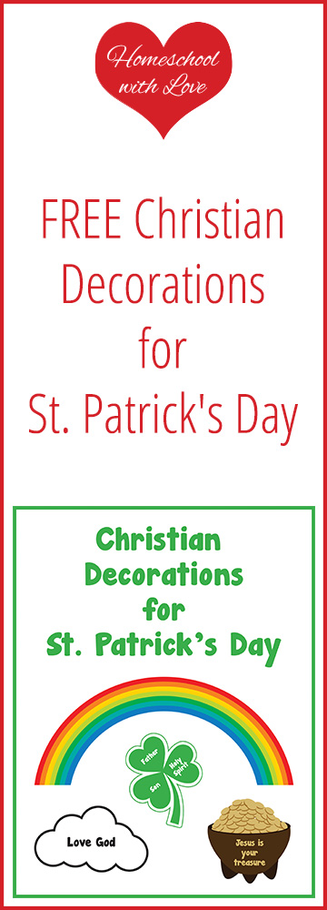 FREE Christian Decorations for St. Patricks Day