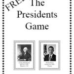The Presidents Game – FREE Printable