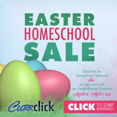 Save BIG on Curriculum at Currclick's Easter Sale