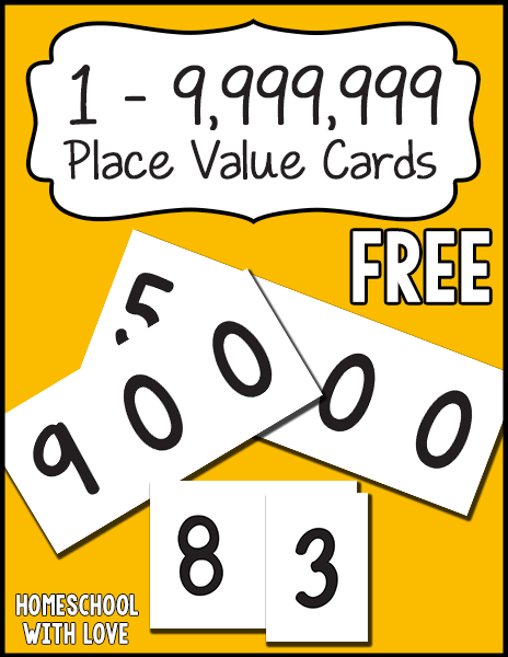 Free place value cards for Price my house free online
