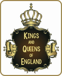list kings and queens of england