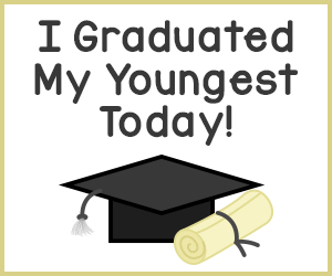 I Graduated My Youngest Today!
