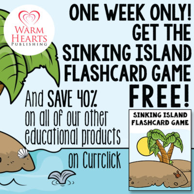 FREE for 1 Week Only – Sinking Island Flashcard Game