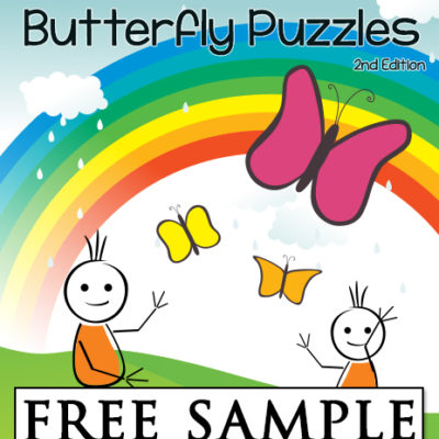 Homonym Butterfly Puzzles Free Sample