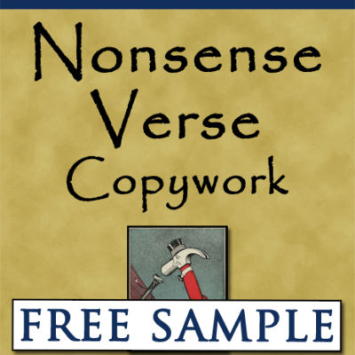 Nonsense Verse Copywork Free Sample