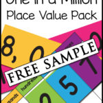 One in a Million Place Value Pack Free Sample