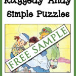 Raggedy Andy Simple Puzzles Free Sample