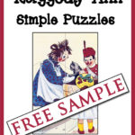 Raggedy Ann Simple Puzzles Free Sample
