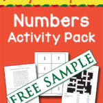Say Sí to Spanish: Numbers Activity Pack Free Sample