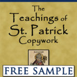 The Teachings of St. Patrick Copywork Free Sample