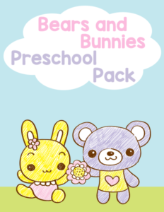 Bears and Bunnies Preschool Pack cover 600h