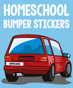 Homeschool Bumper Stickers