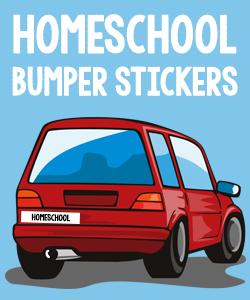 Homeschool Bumper Stickers
