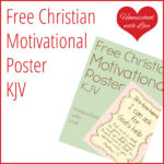 Free Christian Motivational Poster KJV