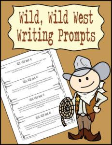 Wild Wild West Writing Prompts 600h
